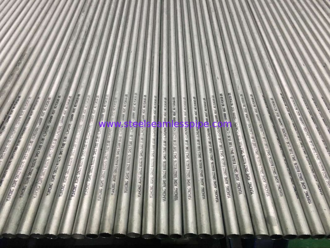 Nickel Alloy Pipe Exchanger Tubes ASME SB163/ SB167 UNS NO6600 NO6601