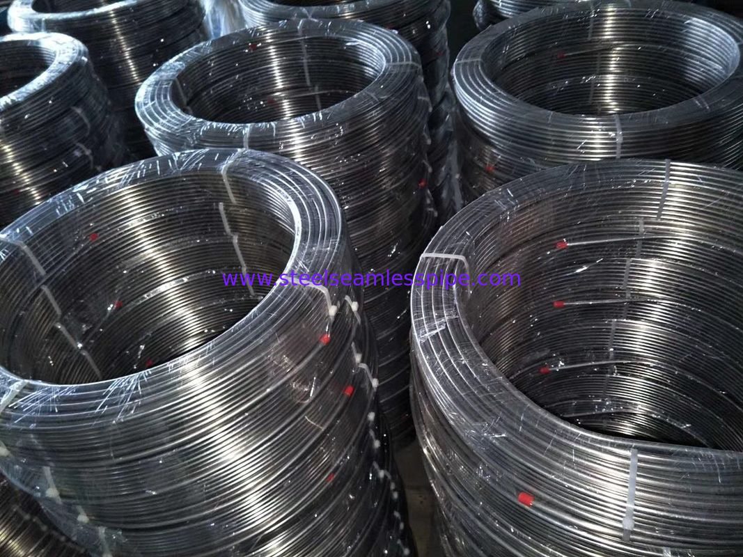 Stainless Steel Coil Tubing, A269 TP304 / TP304L / TP310S / TP316L, bright annealed , 1/2inch BWG 18