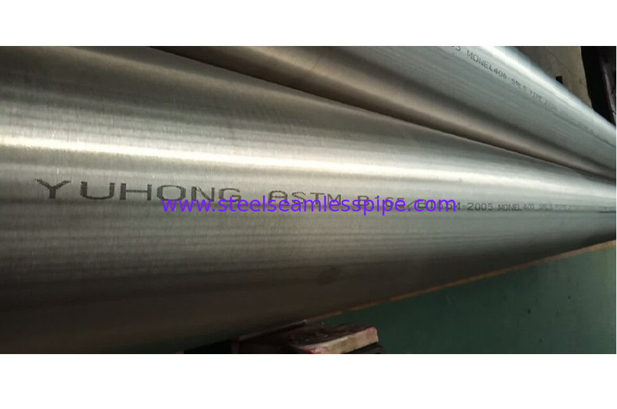 ASTM B165 MONEL 400 SEAMLESS PIPE 273X9.27X5000-5800MM 100% UT & ET  ASME SB165 N04400 PIPE
