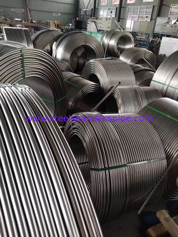 Stainless Steel Coil Tubing, A269 TP304 / TP304L / TP310S / TP316L, bright annealed , 9.53MM