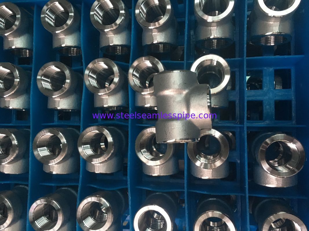 Stainless Steel Forged Fitting, ASME B16.11,NPT,SW,90°ELOW,3000#,6000#,1/2""