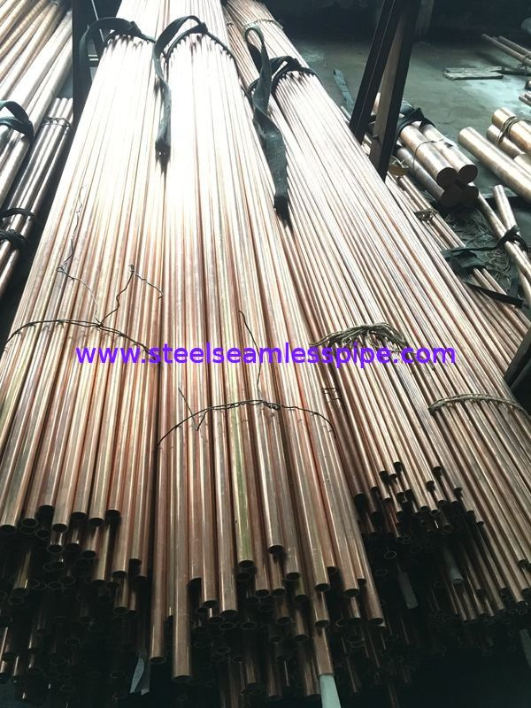 Seamless / Welded Copper Alloy Tube Inconel Tubing ASTM 135 ASTM B43 For Refrigerator