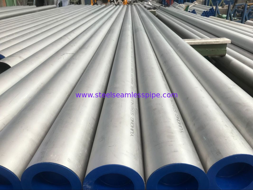 TP310S 101.6*3MM Stainless Steel Round Pipe ASTM A312 / A312M ASME SA312