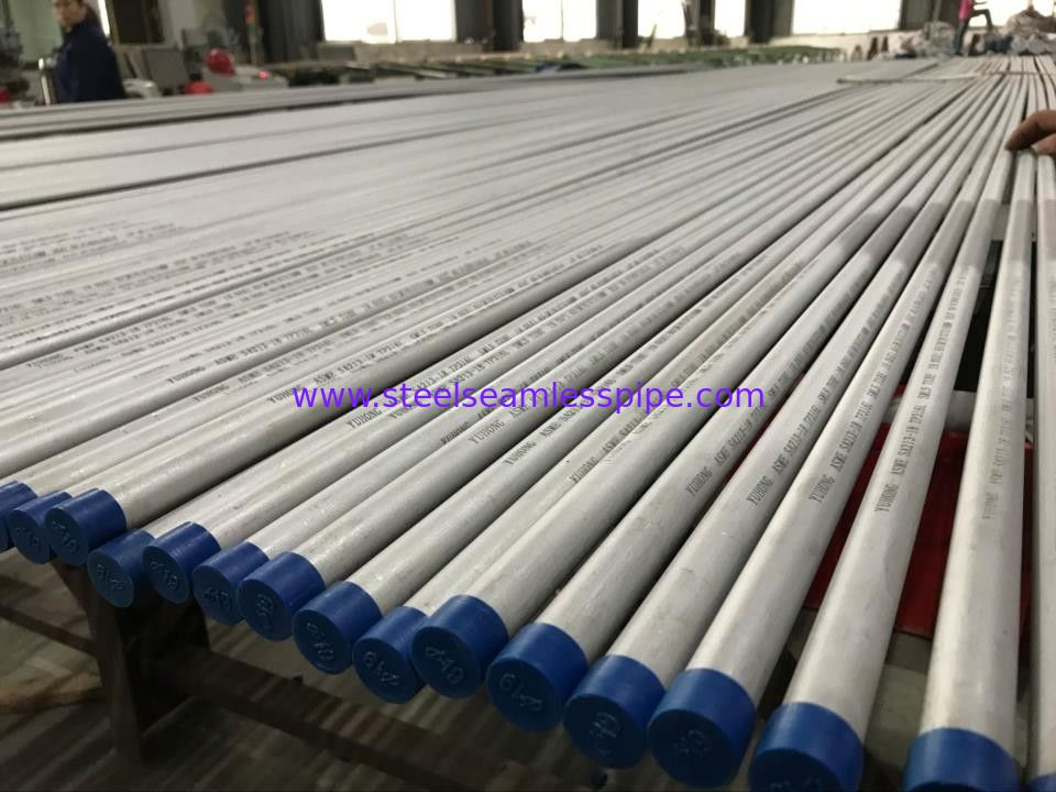 A213-18 TP316L Stainless Steel Seamless Pipe Bright Annealed Surface U - Bend / Straight