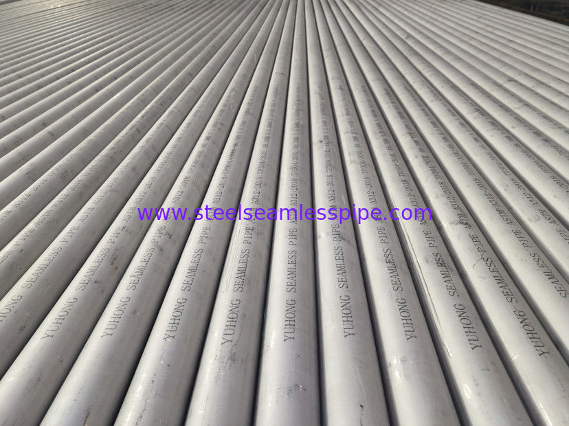 Stainless Steel Seamless Pipe, ASTM A312-2018 TP304, 60.33*3.91*6000MM