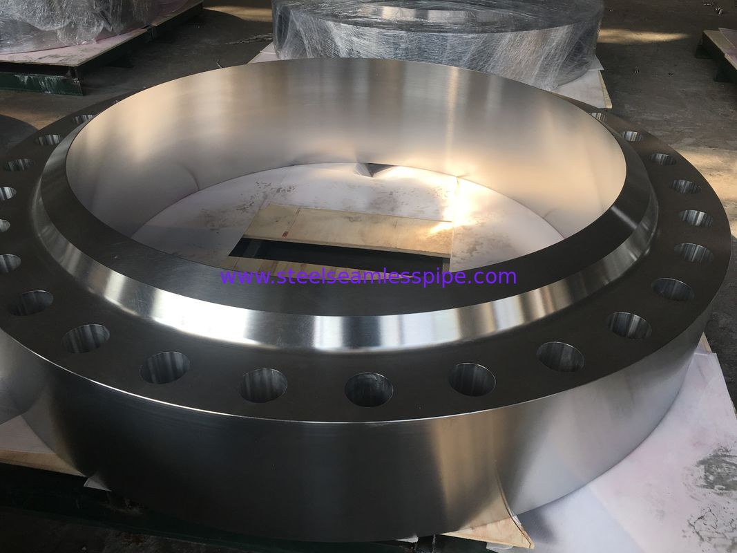 Compact Design Alloy Steel Forged Flange F321H F316L For Chemical Reactor