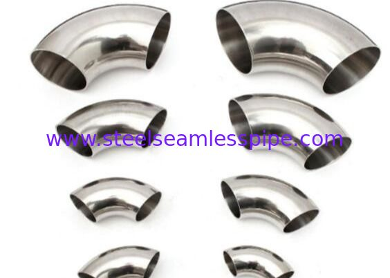 "Stainless Steel Butt Welded Fitting 45Deg 90Deg 180Deg ELBOW LR SR TP304 TP304L TP316L 1/2"" to 60"" ASME B16.9"